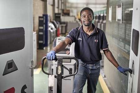 Credit: Ed Robinson/OneRedEye  G4S Plc. Deposita; Manufacturing in South Africa. Credit: Tom Parker/OneRedEye