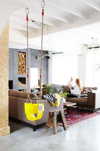 Loma_Beach_house_indoor_swing