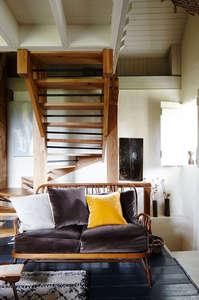 Modern_Rustic-Living_room-mid_century-velvet