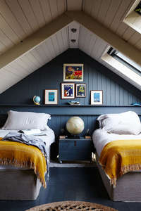 Modern_Rustic-twin_bedroom-teal
